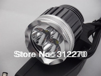New 3800 Lumen 3x CREE XM-L T6 LED Headlight Headlamp Bicycle Bike Light Waterproof Flashlight