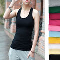 Women Summer vest 90% Cottom Sexy Camisoles tops Women sports Tanks Free Shipping