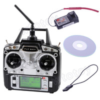 Flysky 2.4G AFHDS 6 Channel Radio System FS-T6  Transmitter Model 2 T6 Remote Control Hot Selling