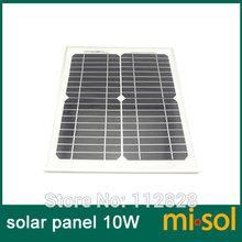 10w solar panel for 12V system,monocrystalline, photovoltaic panel, solar module (China (Mainland))