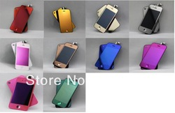 Lowest price for iphone 4,4g,mirror color conversion kit,LCD digitizer assembly back cover full housing Gold,pink,blue,red,etc(China (Mainland))