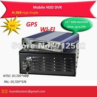 HDD Mobile DVR with GPS