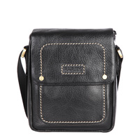 Hot sale 2013  Free Shipping Milry Genuine Leather shoulder Messenger Bag for man fashion business casual bag WST0017-1
