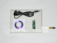 """Free Shipping 10.4 Inch 4 Wire Resistive Touch Screen Panel Kit USB for 10"""" 4:3 LCD Screen Panel"""