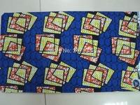 African Fabric Wax Print Super Woodin 6 Yards 100% Cotton+Free shipping 6 Yards super wax special design holland wax fabric(RF96