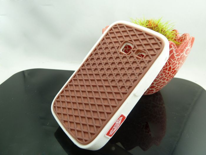 10pcs Wholesale Off the Wall Waffle Sole Soft Silicone Rubber Shoes Case Cover for Samsung Galaxy Y Duos S6102(China (Mainland))