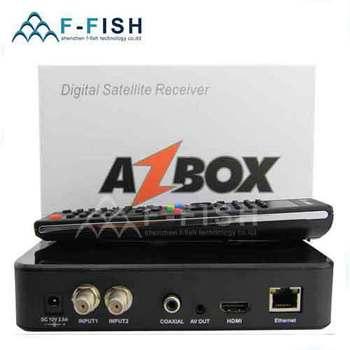 Azbox Bravissimo Satellite Receiver Twin Tuner Support Nagra3 Decoder Az Box Bravissimo HD Linux OS SouthAmerica Free shipping
