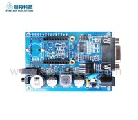 evaluation board , RS232 for wireless communcation