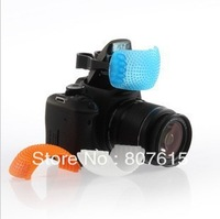 Wholesale NEW 3 color Pop-Up Flash Diffuser Cover for Canon & Nikon SDR DSDR camera