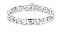 Free  shipping    925  silver jewelry flat snake bone male bracelet