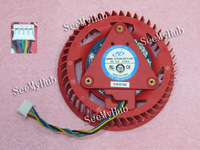 Free Shipping For NTK D7525B12HP-0-C01 Graphics card Fan 4870 5970 5870 5850 4890 5450 5650 4350 DC 12V 0.94A 75X75X25mm 4wire