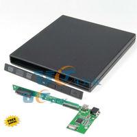 Universal External 9.5mm SATA Optical Drive CD DVD Case Enclosure For Laptop Super Slim Free Shipping