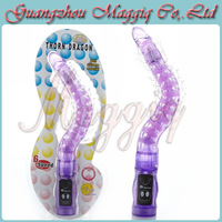 Maggiq-065 Best Gifts Wholesale Love Gift G Spot Vibrator Flexible Vagina Stimulation Adult Sex Toys for Women Sex Products