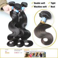3Pcs/Lots Bouncy Brazilian Virgin Hair Weaves Wavy Queen Hair Products Human Hair Extension Free Shipping