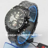 New Gentleman CURREN 8083  Luxury Water Resistant Date Style Silver Steel Wrist Watch+Free Shipping