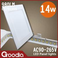 173*173mm 14w led panel supplier,AC85~265V,Cool white/Warm white,60pcs 2835SMD,14W panel led light,free shippng