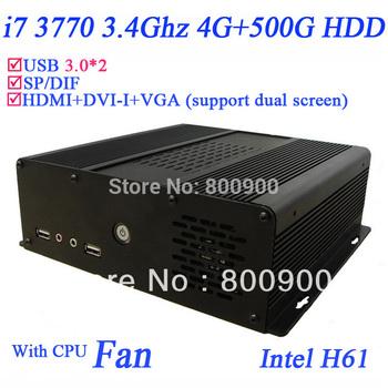 IN-Hi7W INTEL Quad core i7 mini pc with WiFi