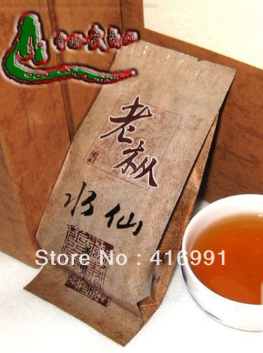 Premium Fujian Wuyi Rock Oolong Tea, 60-year- Old Bush Lao Chung Chui Hsien 6g/bag, Ideal for Office Workers. Free Shipping!(China (Mainland))