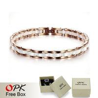 OPK JEWELRY Accessory Ceramic Bracelet Chain 7MM width New Arrivel Ceramic Jewelry Free shipping 444