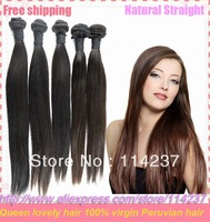 humn hair peruvian 3 pcs 20 22 24 free shipping cheap princess virgin straight hair guangzhou queen hair