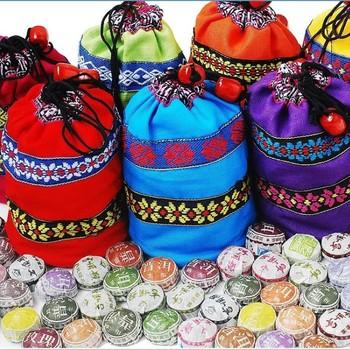 Акция 50шт различные ароматы Китайский Юньнань Пуэр чай спелые пуэр чай Китай чай Пу эр шу похудеть продукты подарок сумку