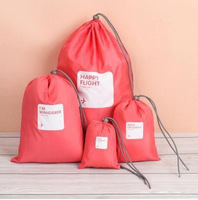 (One set = 4 pieces ) Storage bag for sundries 5 colors traveling storage bag Free shipping