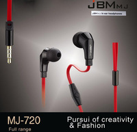 JBM  MJ720 Stereo earphone With mic for mp3,phone