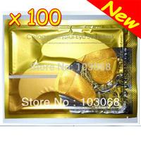 Hot Brand New Crystal Collagen Gold Powder Eye Mask Crystal Eye Mask Moisturizing Eye Mask 100pcs/ lot