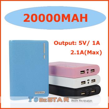 10pcs 20000mah Wallet Power bank (Real 12000mah) With  8 Connectors External Battery Pack