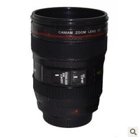 60pcs/lot The first generation CPAM Coffee camera lens mug cup (no lid) Free shipping+Wholesale