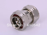 Free shipping 1pcs L29 7/16 DIN male plug to 7/16 L29 male jack in series RF adapter connector  Plating Nickelplated   Family