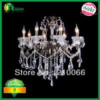free shipping model chandeliers fashion crystal pendant lamp for living-room bedroom wholesale and retail E14X8 C72*71cm
