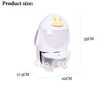 NEW Dehumidifier QQ shape dehumidifying dryer air purification sterilizing machine Mini dehumidifier Free shipping wholesale