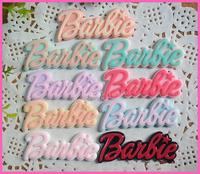free shipping 30pcs resin cabochon kawaii Flat Back Letters cabochons mixed cameo embellishments for diy phone decoration