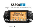 Free shipping Promotion  JXD S5300 New  5 Inch Android 4.1.1 HDMI Touch Screen Game Console TV Output 512/ 4GB tablet pc