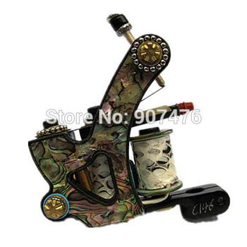 tattoo machine for liner 8 wrap coils  tattoo gun iron frame for tattoo supply