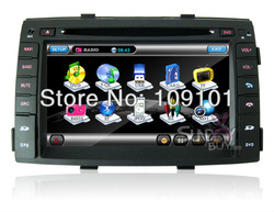 2 Din 7.0 inch Car DVD palyer HD Screen GPS Navigation Stereo For Kia Sorento 2010-2011 with Radio,TV,Bluetooth 8941(China (Mainland))