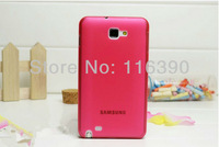 wholesale 50pcs/lot 0.3mm Ultra Thin Slim Frosted Matte PC Case for Samsung Galaxy Note II/2 N7100,Free Shipping