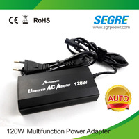 120W Universal Laptop/Mobile Phone/Notebook Computer Adaptor Power charger Free shipping.