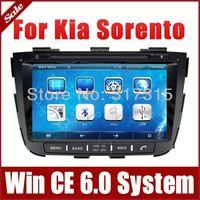 "8"" In Dash Head Unit Car DVD Player for Kia Sorento 2013 with GPS Navigation Stereo Radio Bluetooth TV USB CAN Bus Auto Audio"