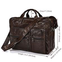 popular leather laptop bag men