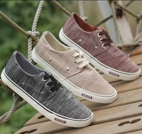Free shipping 2013 New fashion canvas sneakers for men low male canvas shoes fashion male casual cotton-made sport casual flats