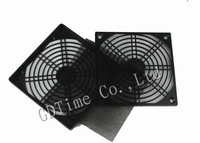 Freight free  100pcs set Computer 12CM 120MM Dustproof Dust Filter Fan Strainer GDT-12CM