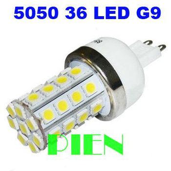 G9 LED Lamp 6W 110V 220V 36 LED Corn bombillas Luz 5050 SMD E14|E27 High Power bedroom home Free Shipping 2pcs