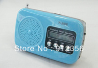 New arrival 50 pcs/lot T-206 outdoor portable speaker small volume built-in of lithium battery  for iPod, MP3, MP4 free shipping