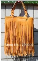 2012 autumn and winter Tassel fashion messenger style women's handbag
