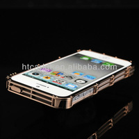 1pcs/lot Free Shipping iMatch Original Second Generation Chain Stainless Steel Metal Bumper Frame Case for iPhone 5 5s 5c