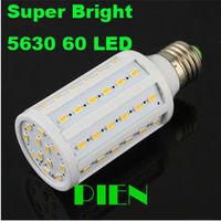 E27 12W 5630 corn led bulb E14|B22 SMD 60 LED lamp for home downlights Super Bright 110V 230V by DHL 20pcs/lot