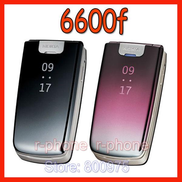 Original Nokia 6600f 6600 Fold Mobile Cell Phone 2G 3G Unlocked Cellphone(China (Mainland))