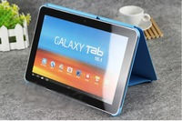 Leather Case For P5100  P5110 GALAXY Tab 2 , smart Cover  stand case Offical version case